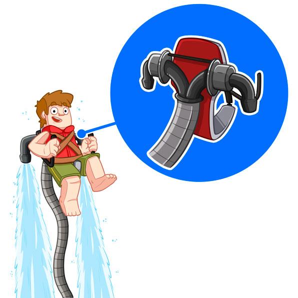 jetpack de agua