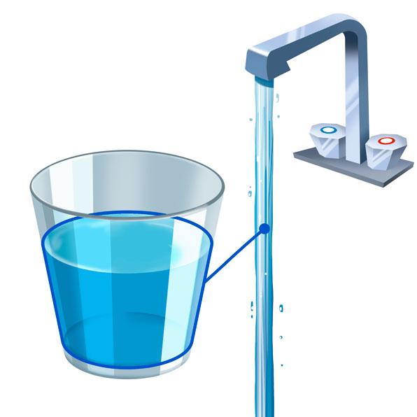 agua del grifo