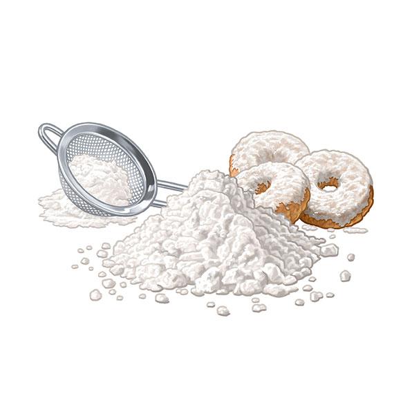 azúcar glacé