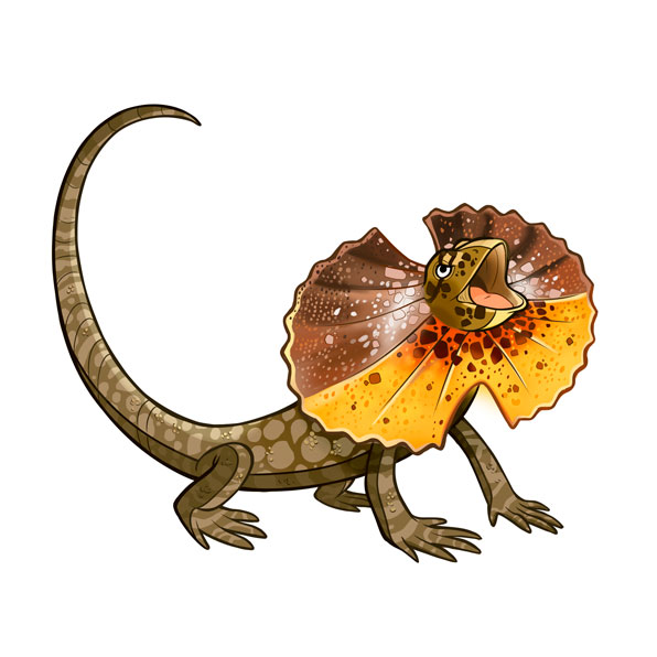 clamidosaurio