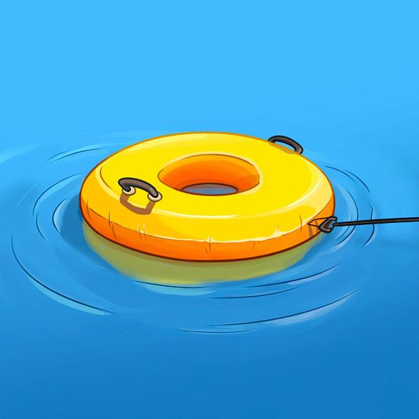 dónut acuático