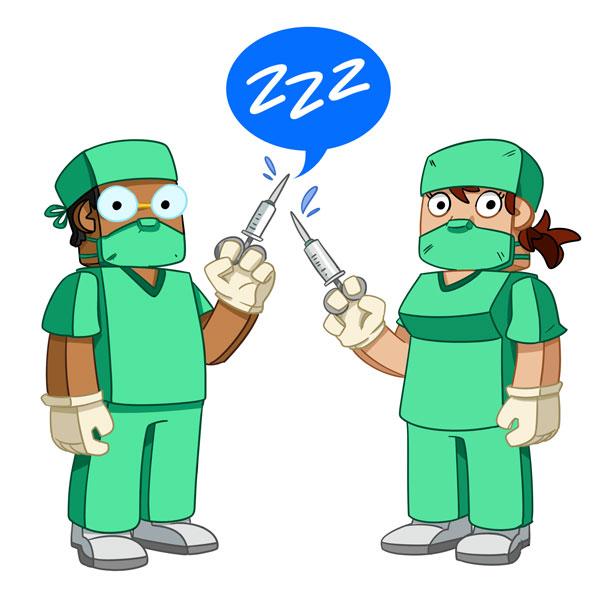 anaesthetist