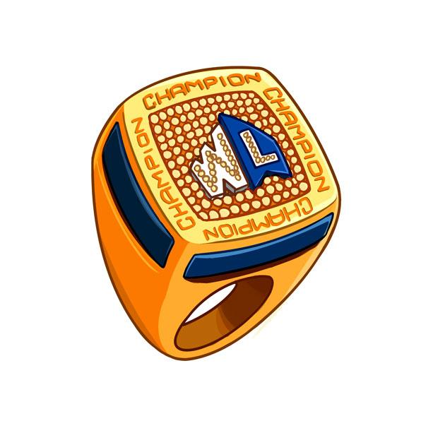 anillo de campeón