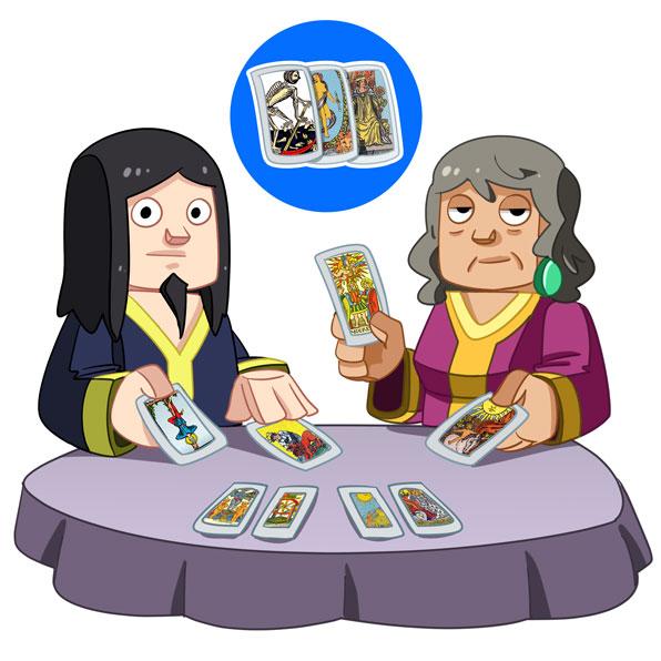 tarot-card reader