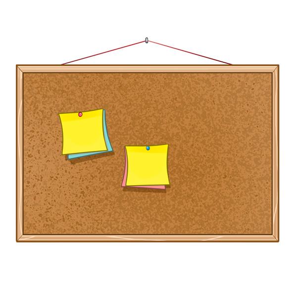tablón de corcho