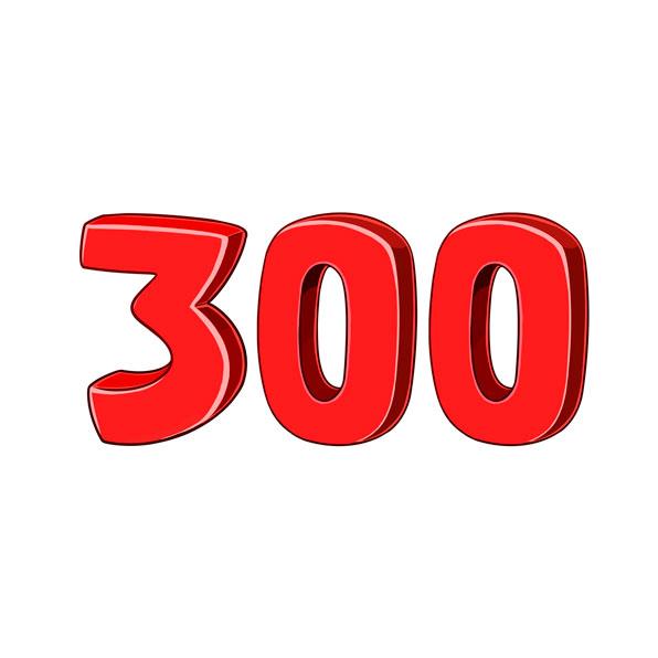 trescientos