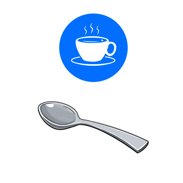 cuchara de café