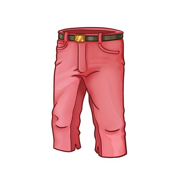 pantalón pirata