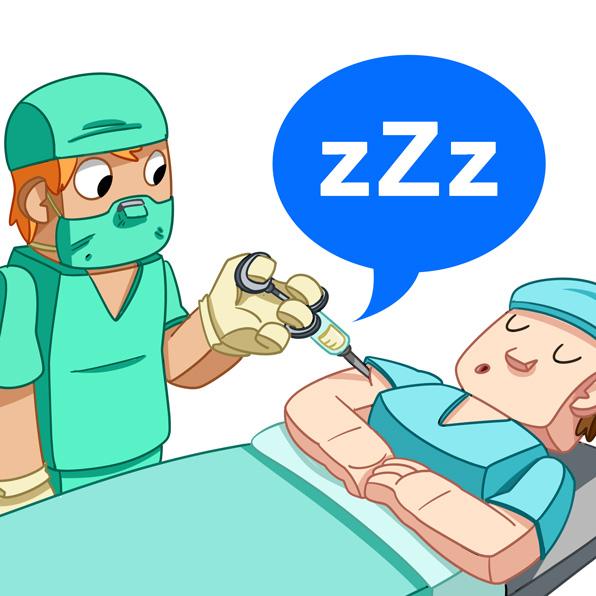 anaesthetise