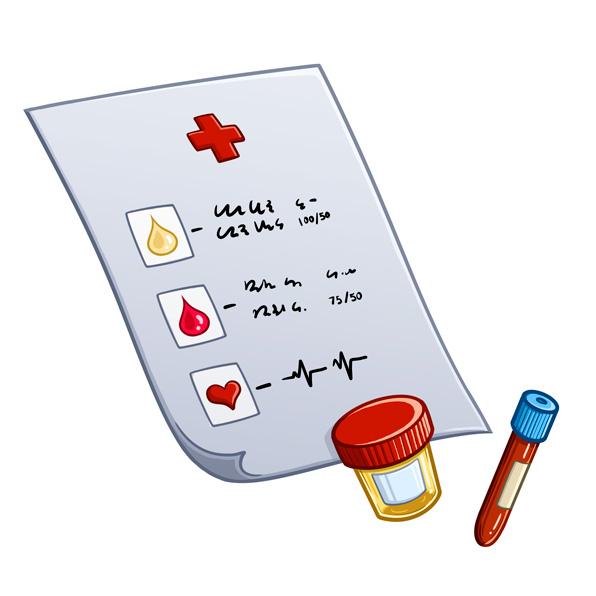 análisis clínico