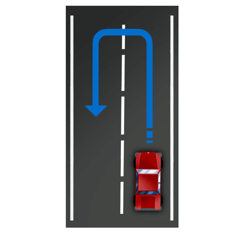 make a U-turn